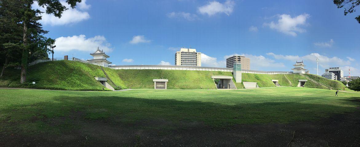 本丸広場パノラマ